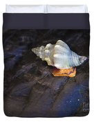 Traveling At A Snail's Pace Duvet Cover
