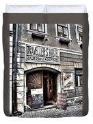 Travellers Hostel - Cesky Krumlov Duvet Cover