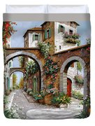 Tre Archi Duvet Cover by Guido Borelli