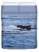 Treacherous Shorebreak Duvet Cover