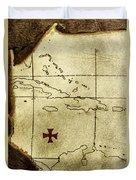 Treasure Hunt Duvet Cover