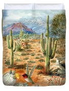 Treasures Of The Desert Duvet Cover