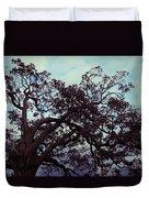 Tree Against Sky Duvet Cover