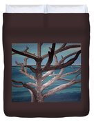 Tree And Beach Duvet Cover