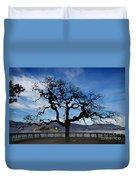 Tree And Borromee Islands Duvet Cover