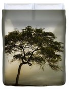Tree And Stormy Sky Duvet Cover