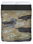 Tree Bark II Duvet Cover