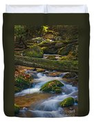 Tree Bridge In The Smokies Duvet Cover