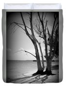 Tree By The Sea Duvet Cover