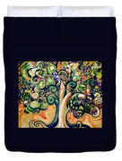 Tree Candy 2 Duvet Cover