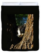 Tree Cat Duvet Cover