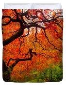 Tree Fire Duvet Cover