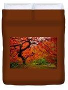 Tree Fire Duvet Cover by Darren  White