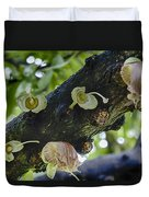 Tree Flowers Duvet Cover