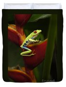 Tree Frog 3 Duvet Cover