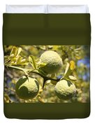 Tree Fruit Duvet Cover