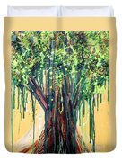 Tree Grit Duvet Cover