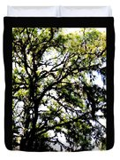 Tree In Blue Ridge Mountains Duvet Cover