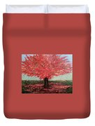 Tree In Fall Duvet Cover
