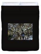 Tree In French Quarter Duvet Cover