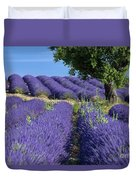Tree In Lavender Duvet Cover