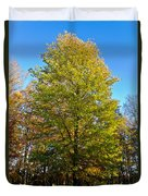 Tree In The Cemetery Duvet Cover