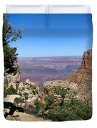 Tree In The Grand Canyon Duvet Cover
