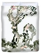 Tree In The Wind Duvet Cover