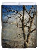 Tree In Winter Duvet Cover
