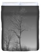 Tree In Winter Duvet Cover