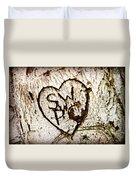 Tree Initials Duvet Cover