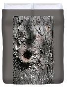 Tree Lichen Hole Duvet Cover