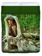 Tree Mouth Duvet Cover