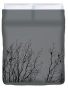 Tree Of Birds Duvet Cover