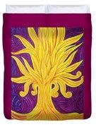 Tree Of Fire Duvet Cover