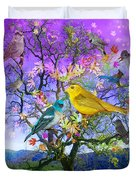 Tree Of Happiness Duvet Cover