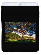 Tree Of Joy. Mauritius Duvet Cover
