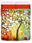 Tree Of Joy Duvet Cover