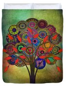 Tree Of Life 2. Version Duvet Cover