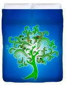 Tree Of Life Duvet Cover by Cheryl Young