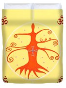 Tree Of Life - Joy Mandala Duvet Cover