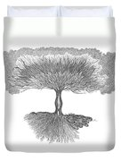 Tree Of Living Duvet Cover