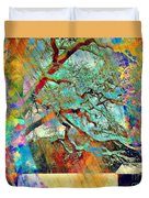 Tree Of Many Colors Duvet Cover