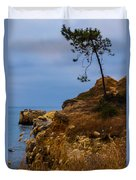 Tree On A Cliff II Duvet Cover