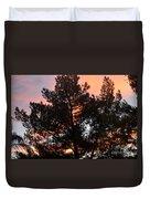 Tree On Fire Duvet Cover