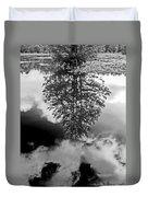 Tree Reflected  Duvet Cover