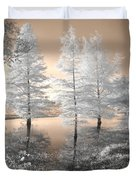 Tree Reflections Duvet Cover by Jane Linders