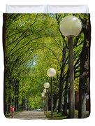Tree Ride Duvet Cover