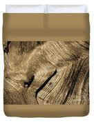 Tree Rings Duvet Cover