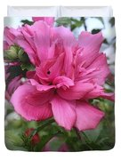 Tree Rose Of Sharon Duvet Cover